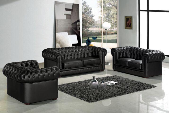 Erstaunlich Leder Chesterfield Sofa Für Modernes Sofa Für Wohnzimmer Sofa Möbel