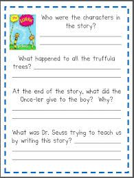 image result for creative writing my family worksheet grade 2 writing skills the lorax dr. Black Bedroom Furniture Sets. Home Design Ideas