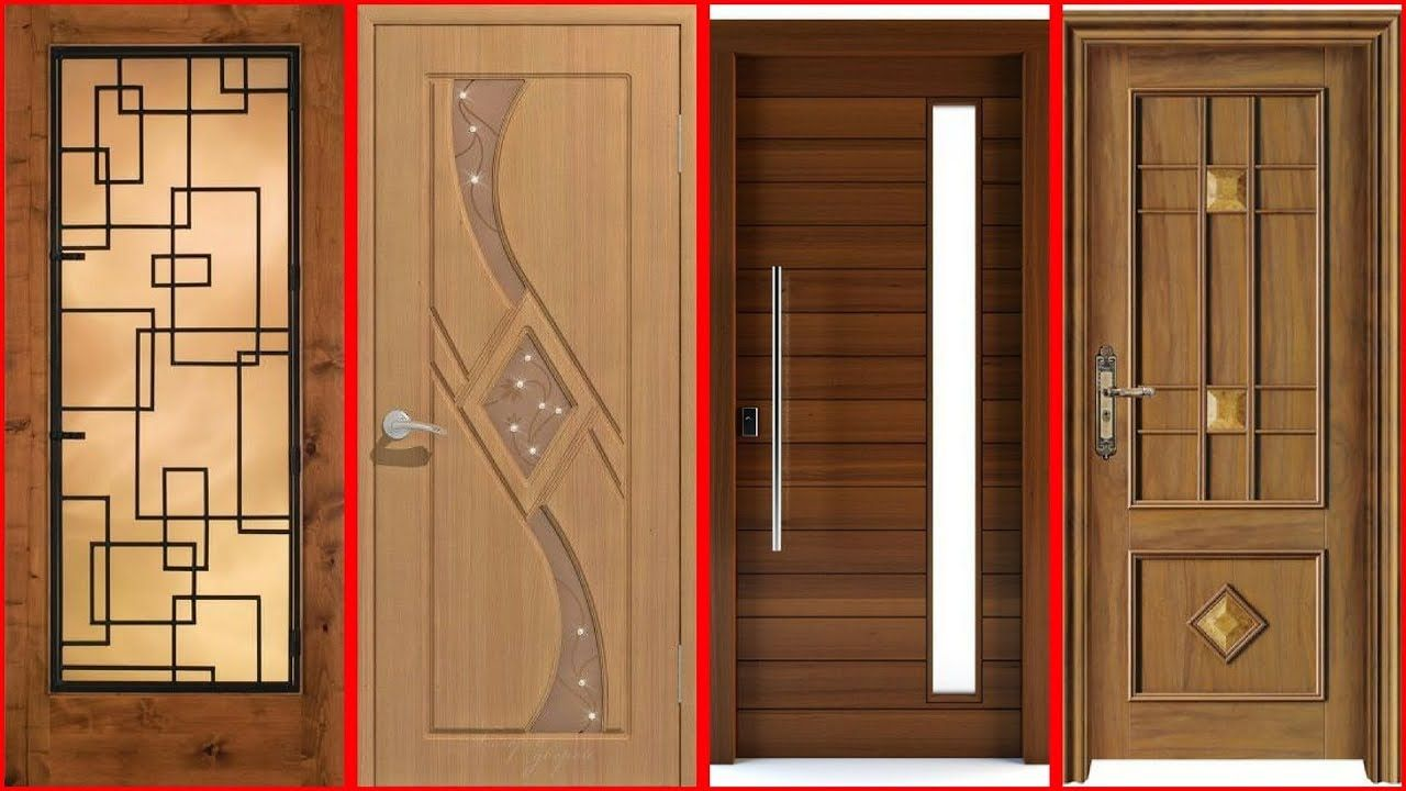 Top 40 Modern Wooden Door Designs For Home 2018 Main Door Design For R Bedroom Door Design New Door Design Door Design