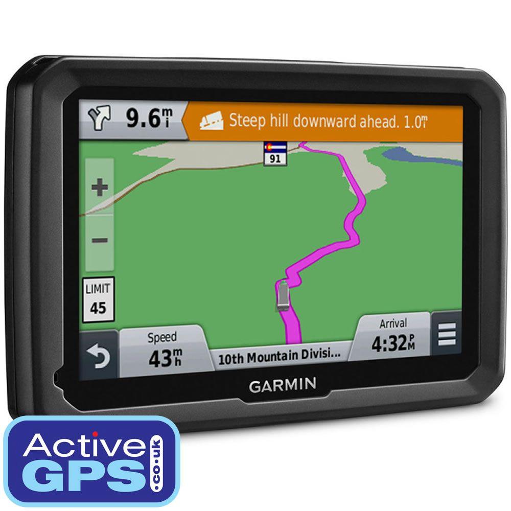 Garmin Dezl Lmt D Truck Sat Nav Is Preloaded With Full European Maps And Digital