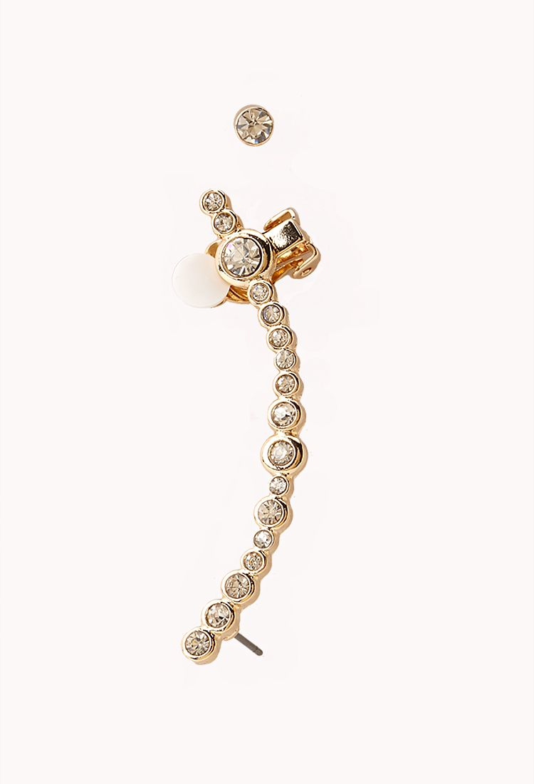 Touch-Of Glam Studs w/ Earcuff 1000063714