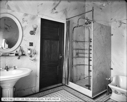 Utah Bathroom 1907From The Utah Historical Society Via The Unique Utah Bathroom Remodel Inspiration