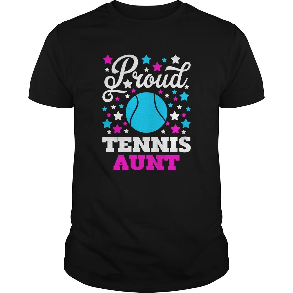 Proud Tennis Aunt  #mozcloth #christmasgifts #health #fitness tennis men, tennis hombre, tennis work...