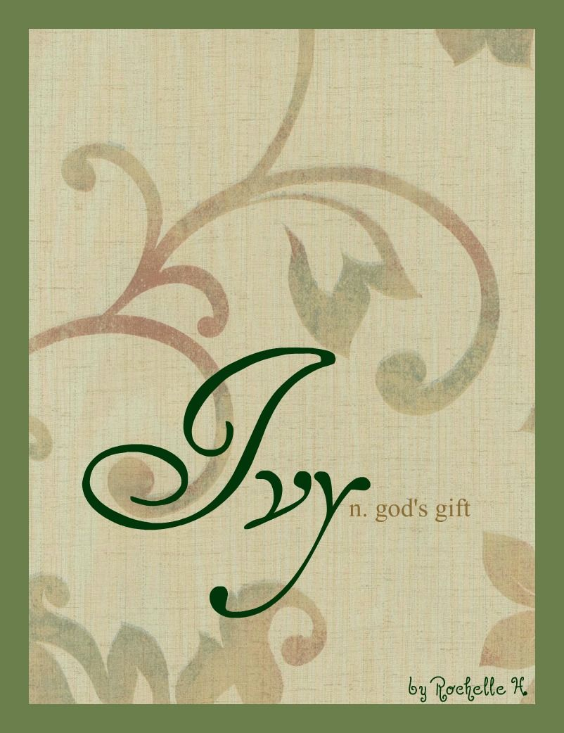 Girl name ivy meaning gods gift origin hebrew http