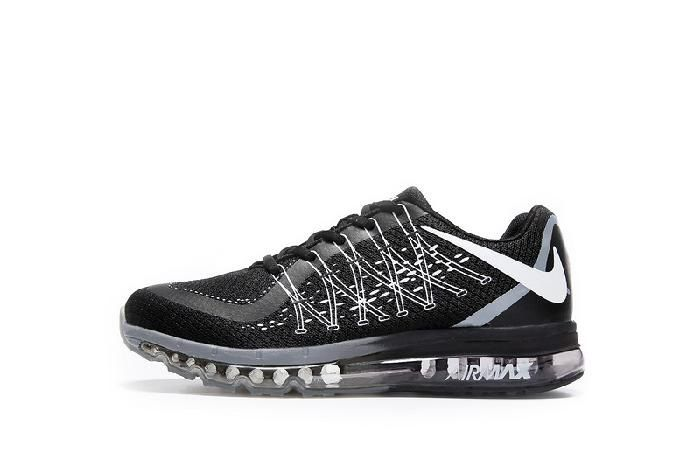 new arrival 50e10 f98e5 Clearance Nike Air Max 2017 Black White Net Sports Shoes Online Store -   69.88