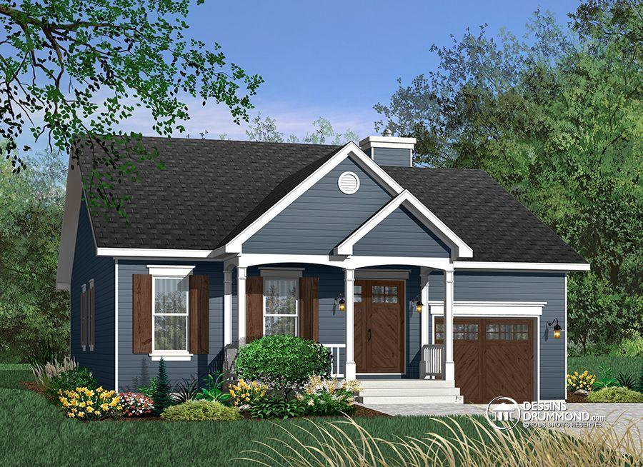 Détail du plan de Maison unifamiliale W3209 House plans