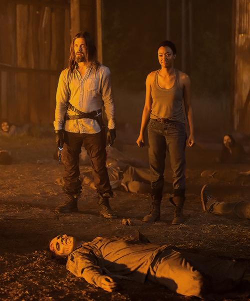 """ Sasha and Jesus in The Walking Dead Season 7 Episode 5 | Go Getters """