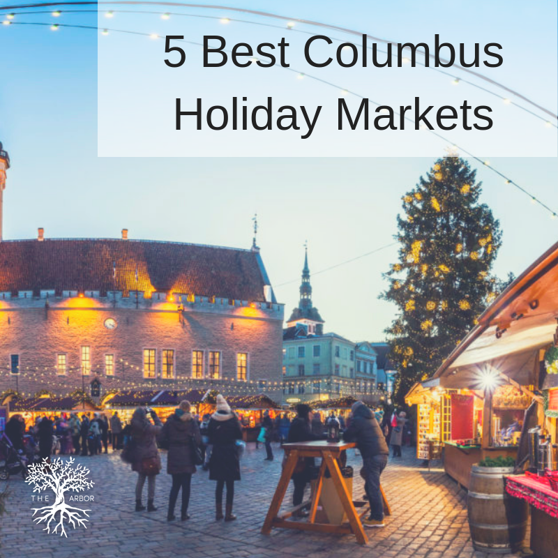 Columbus and German Village are beautiful around the