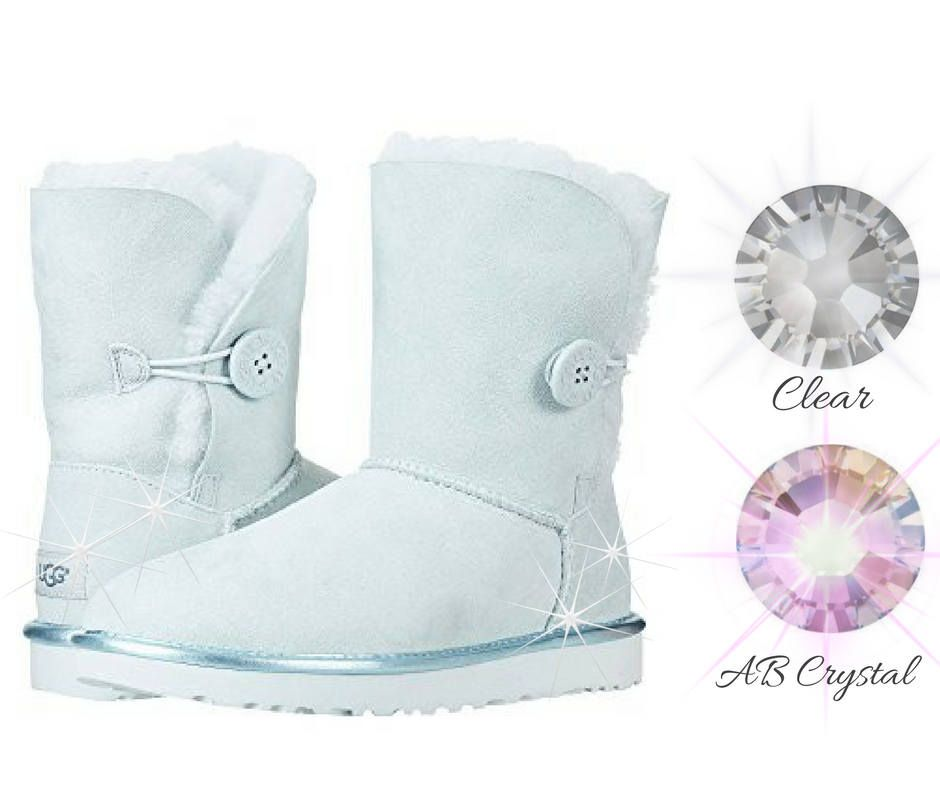mint green bailey bow uggs