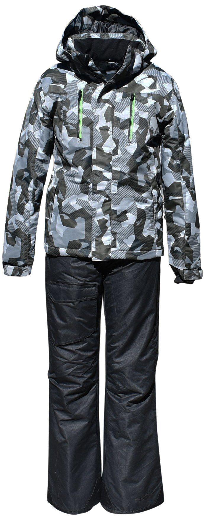fa0a1ac0a5b0 Pulse Big Boys Youth Kids Insulated Snowsuit Jacket Pants Terrain ...