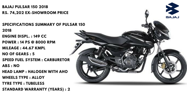 Top 10 Bikes Of India Bajaj Pulsar 150cc Bike