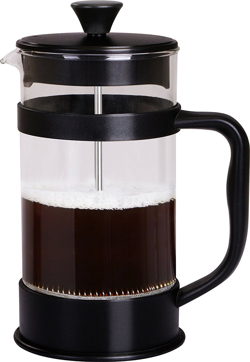 French Coffee Press 34 Oz Espresso And Tea Maker With Triple Filters Stainless Steel Plunger And Heat Coffee Press French Coffee Stainless Steel French Press