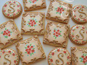 Wedding Cookie Design From Sweetambs
