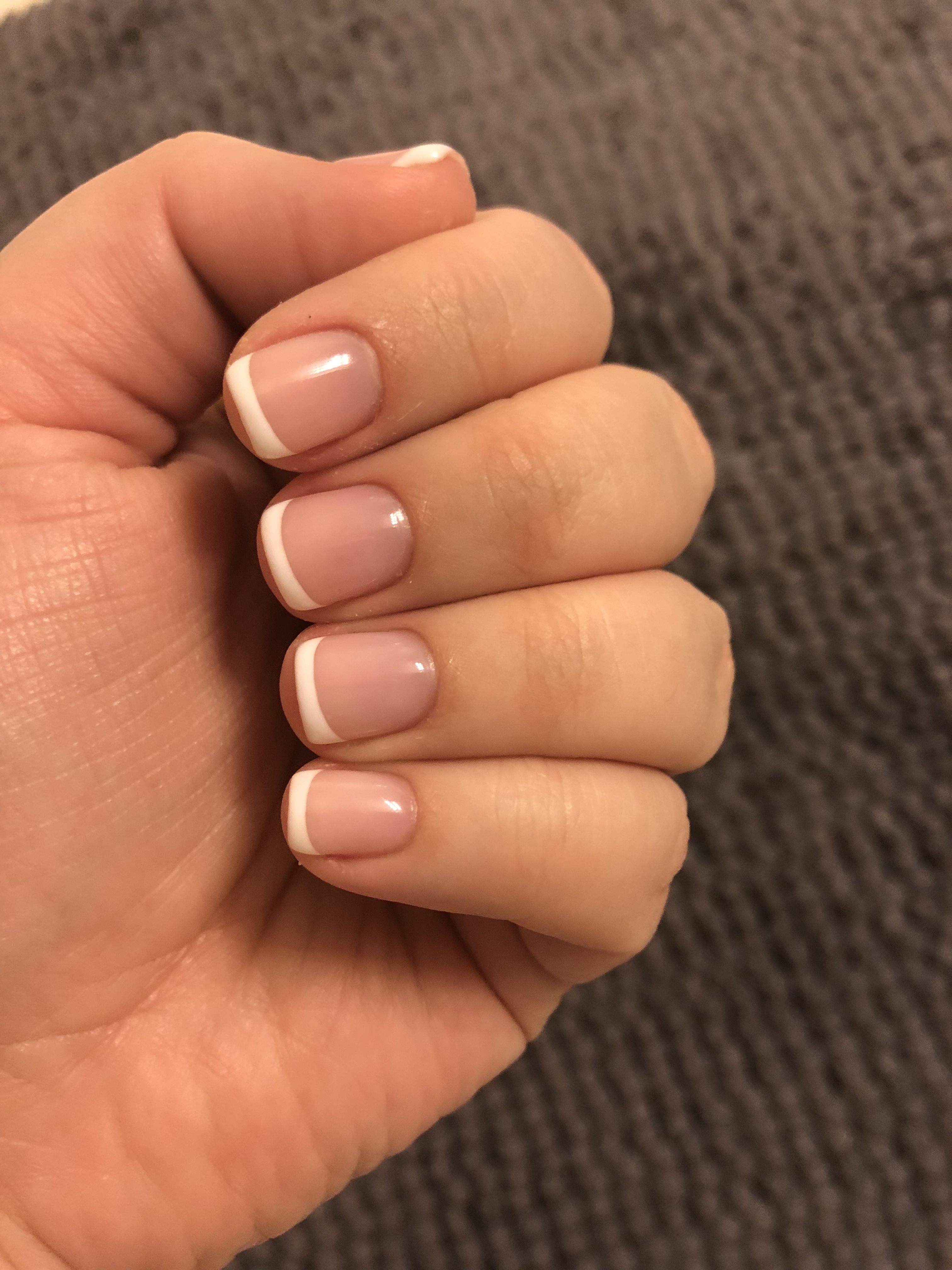 Gel French manicure nails | Nails | Pinterest | Gel french manicure ...