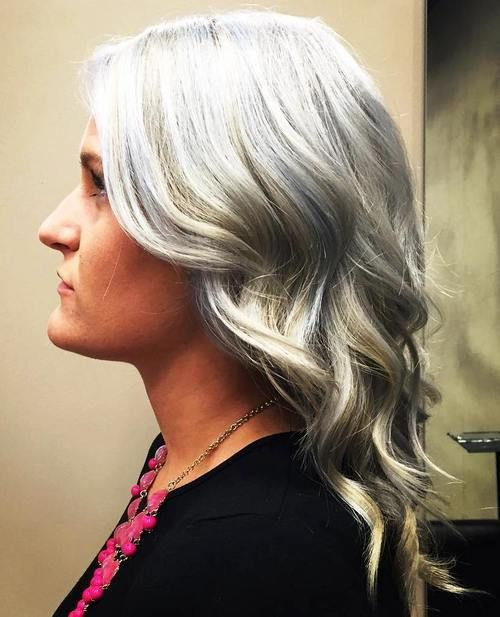 20 Shades Of Grey Silver And White Highlights For Eternal Youth