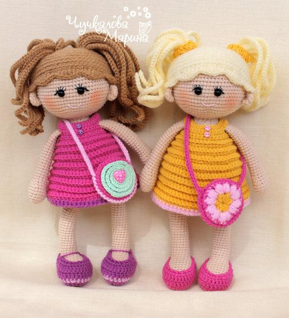 PATTERN Pumposhka doll PDF crochet doll pattern | Häkelpuppen ...