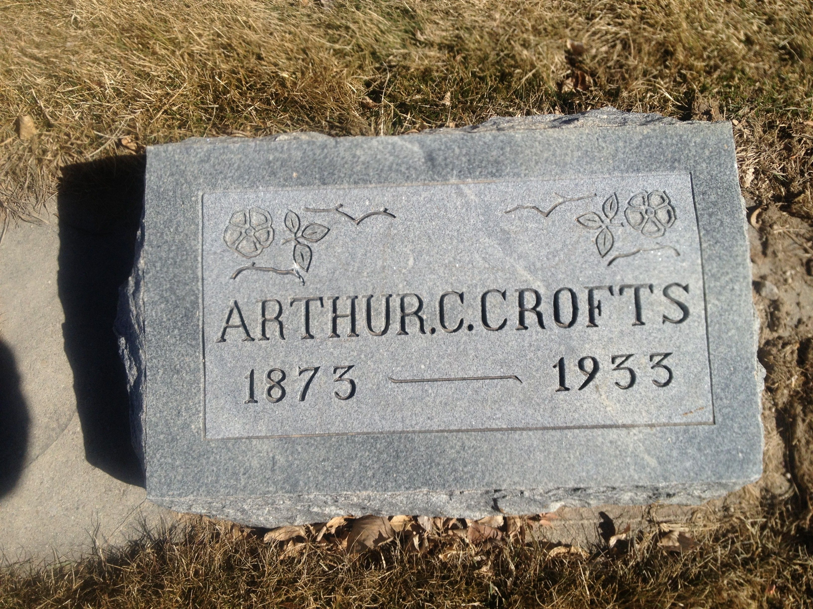Arthur Charles Crofts (1873 - 1933) - Find A Grave Photos