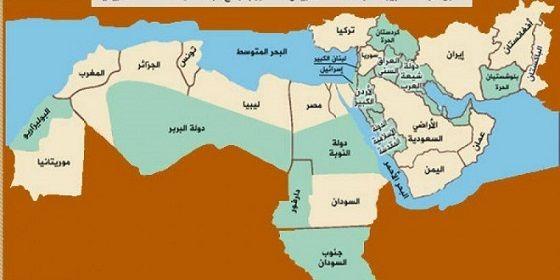 خرائط الشرق الأوسط الجديد وخطوط الطائفية والمذهبية والقومية امة العرب Oly Blog Posts Map