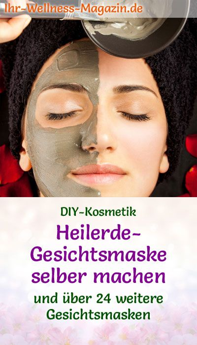 Photo of Make healing earth face mask yourself – recipe and instructions