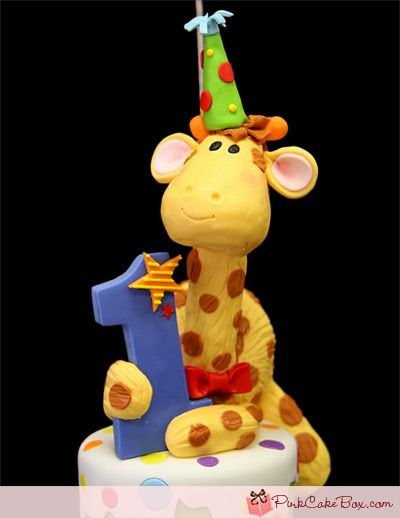 1st Birthday Giraffe Cake Birthday Cakes Birthday cakes