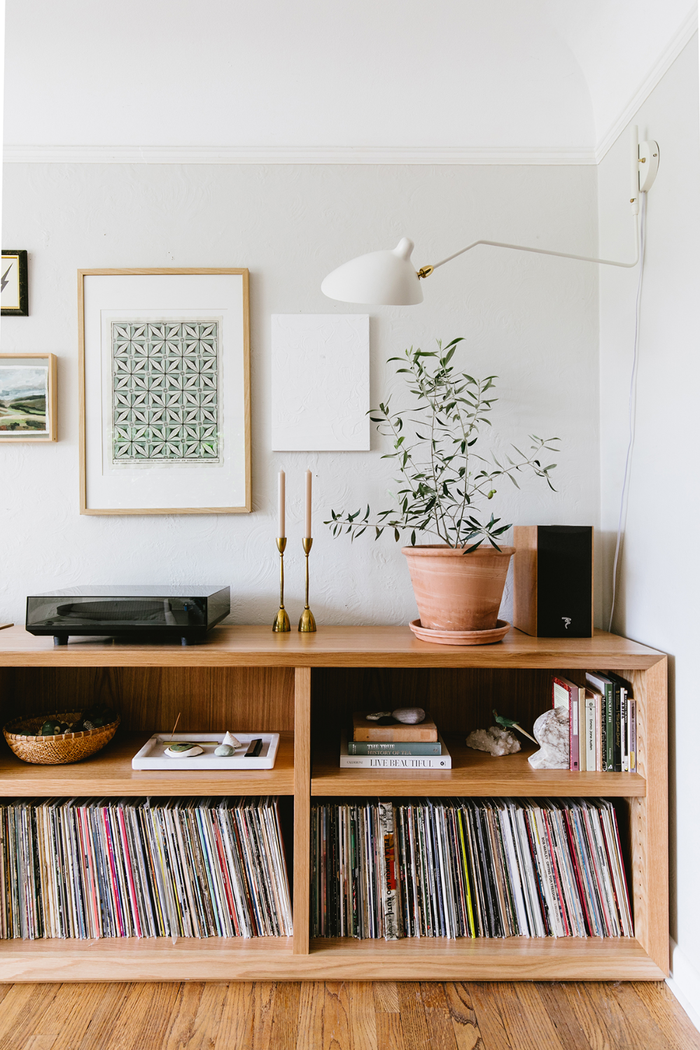 How We Solved a Major Design Dilemma with Custom Shelving (and Our Latest Living Room Reveal