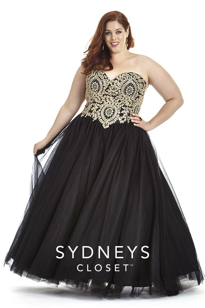 Image Result For Formal Black Dresses Plus Size A Black Skull