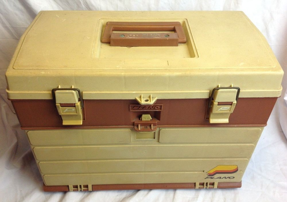 Details about Plano 757-004 4 Drawer Tackle Box with Top