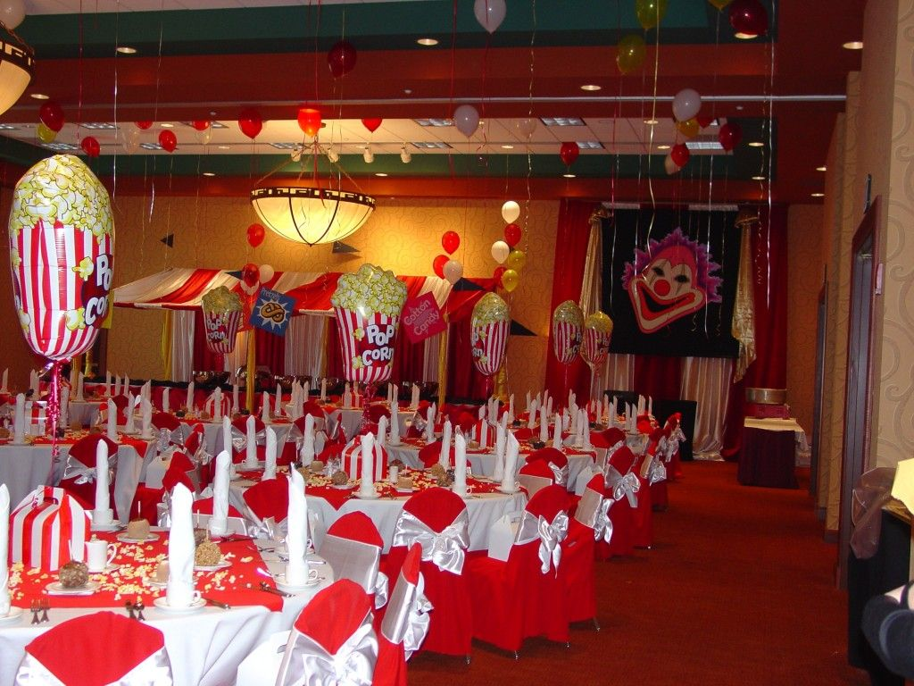 Circus themed event ideas gallery convention services for Event planning ideas parties