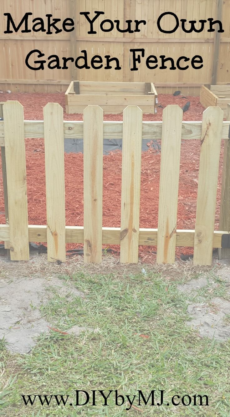 keep animals and little ones out of your garden with this diy 3 ft wood - Garden Ideas To Keep Animals Out