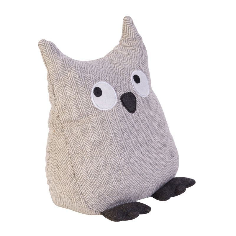 cute fabric owl door stop t rstopper pinterest. Black Bedroom Furniture Sets. Home Design Ideas