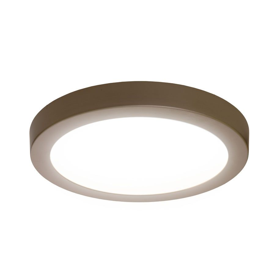 Sylvania 15 in w brushed nickel integrated flush mount light sylvania 15 in w brushed nickel integrated flush mount light arubaitofo Choice Image