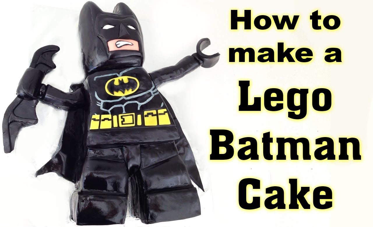 Lego Batman Cake HOW TO COOK THAT Beyond Gotham Cake PS3 PS4 Xbox