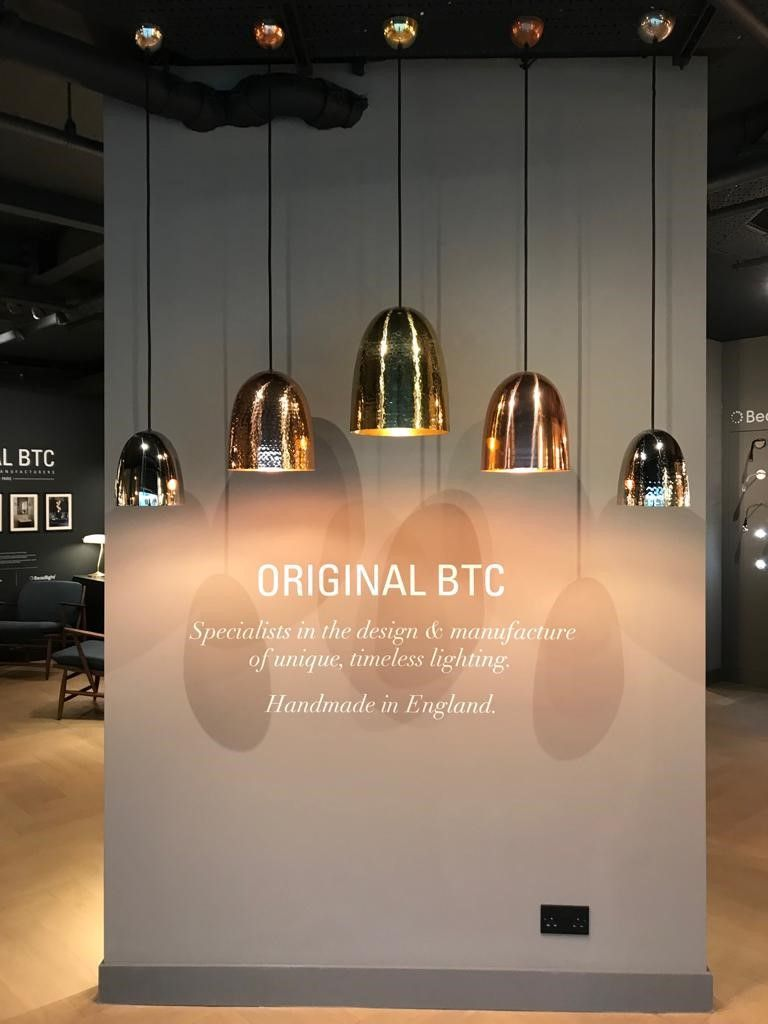 Our Stanley Pendants Hanging In Design Centre Chelsea
