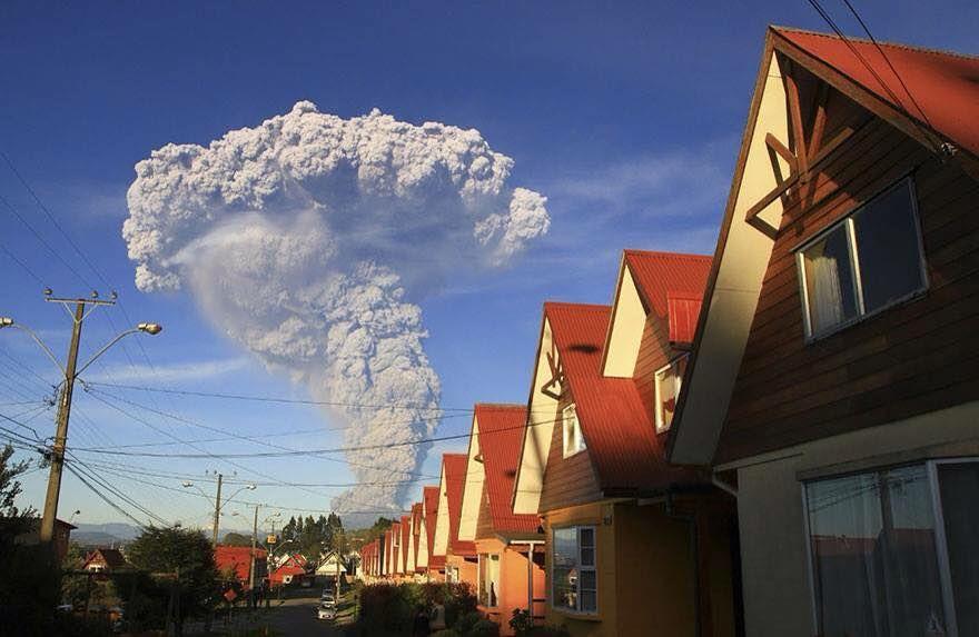 Erupción volcanica