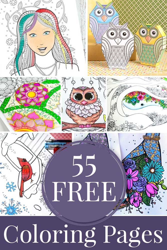 Hattifants Coloring Tribe Round Up With 55 Free Pages