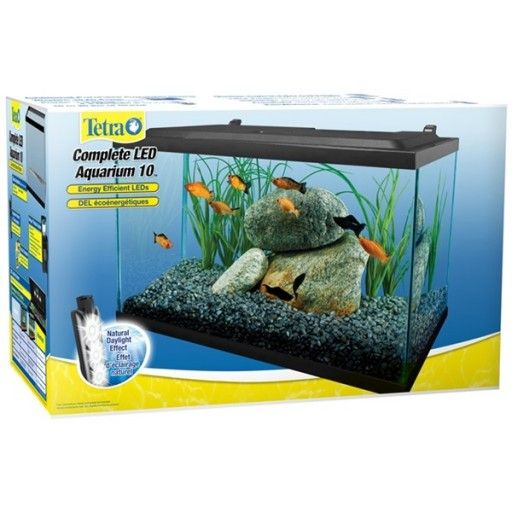 Product Feature Tetra 10 Gallon Led Aquarium Kit Pisces Pets Aquarium Kit Led Kit Aquarium