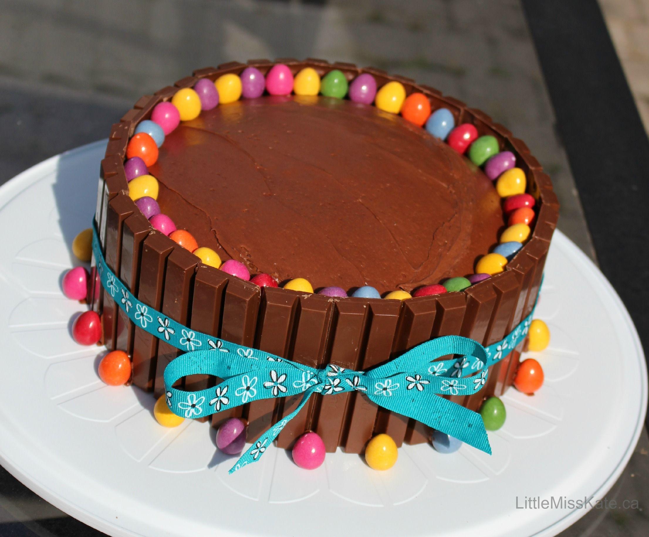 Kit Kat Cake Recipe Pinterest Kit Kat Cakes Occasion Cakes