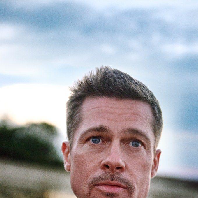 Brad Pitt Talks Divorce Quitting Drinking And Becoming A Better Man Brad Pitt Haircut Brad Pitt Hair Brad Pitt