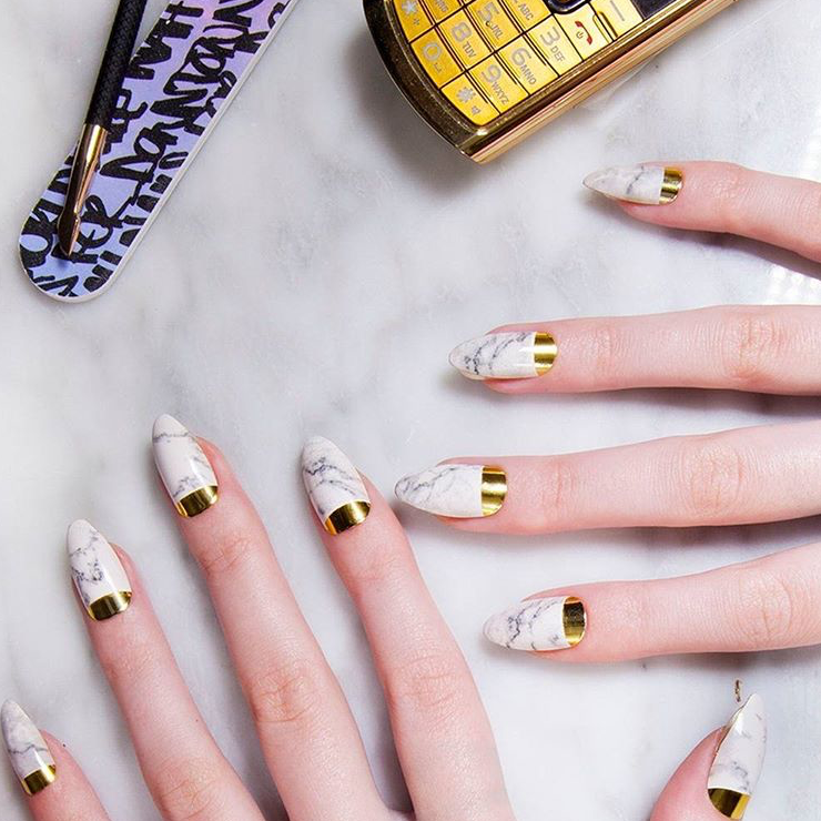 Marble Magic | Gel Nail Designs | Pinterest | Manicure