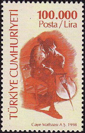 ◇Turkey  Stamp 1998