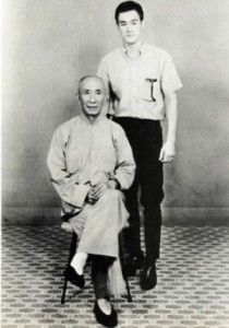 Bruce Lee With His Teacher Grand Master Ip Man This Photo Is Displayed At Ip Man Museum In Foshan China I Wa Bruce Lee Martial Arts Bruce Lee Martial Arts