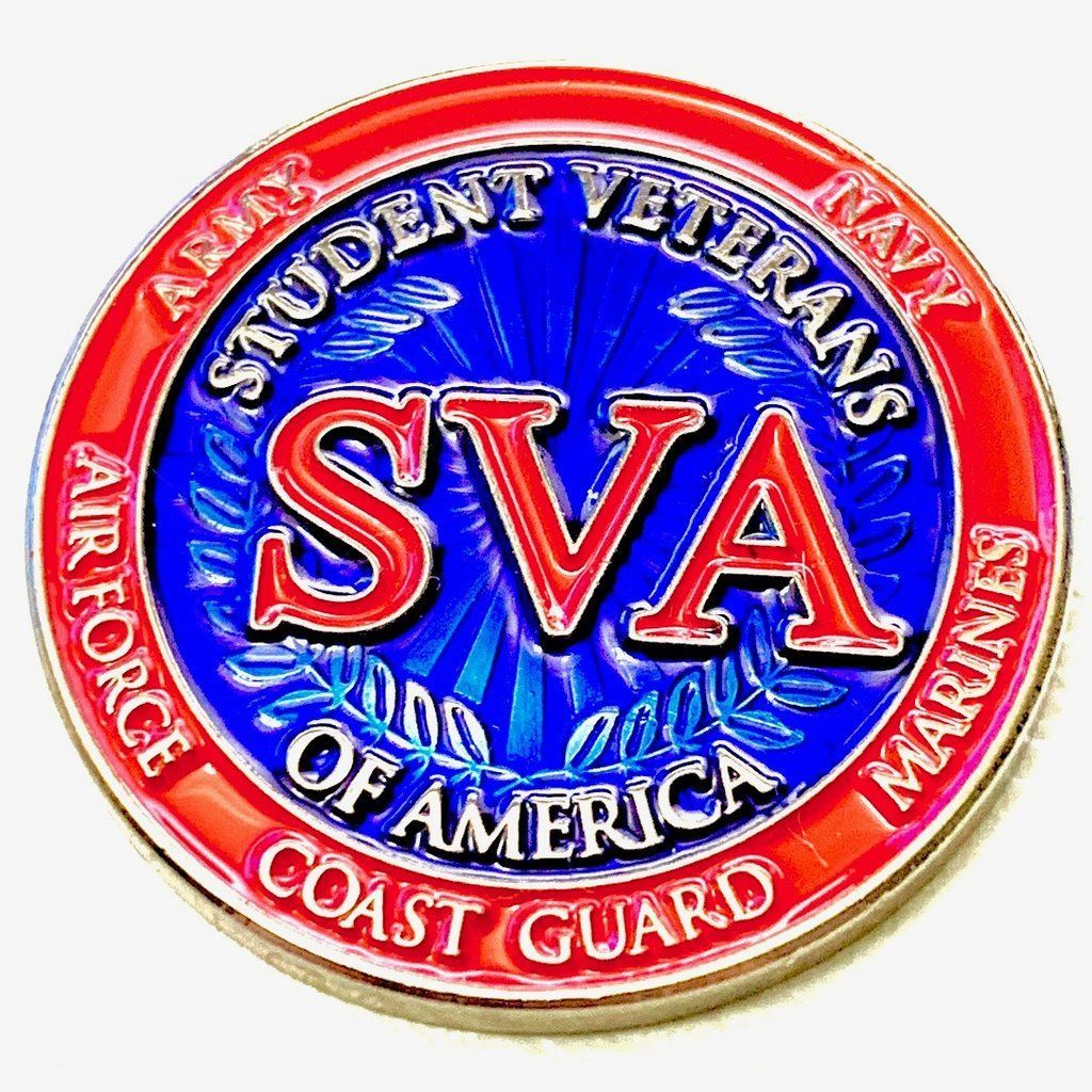 Student Veterans of America Challenge Coin in 2020