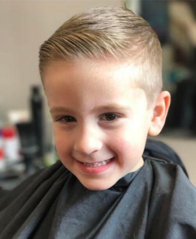 Boys Haircuts Little Boy Flat Style