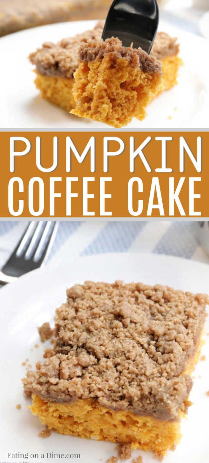 Pumpkin Coffee Cake Recipe Easy Pumpkin Streusel Coffee
