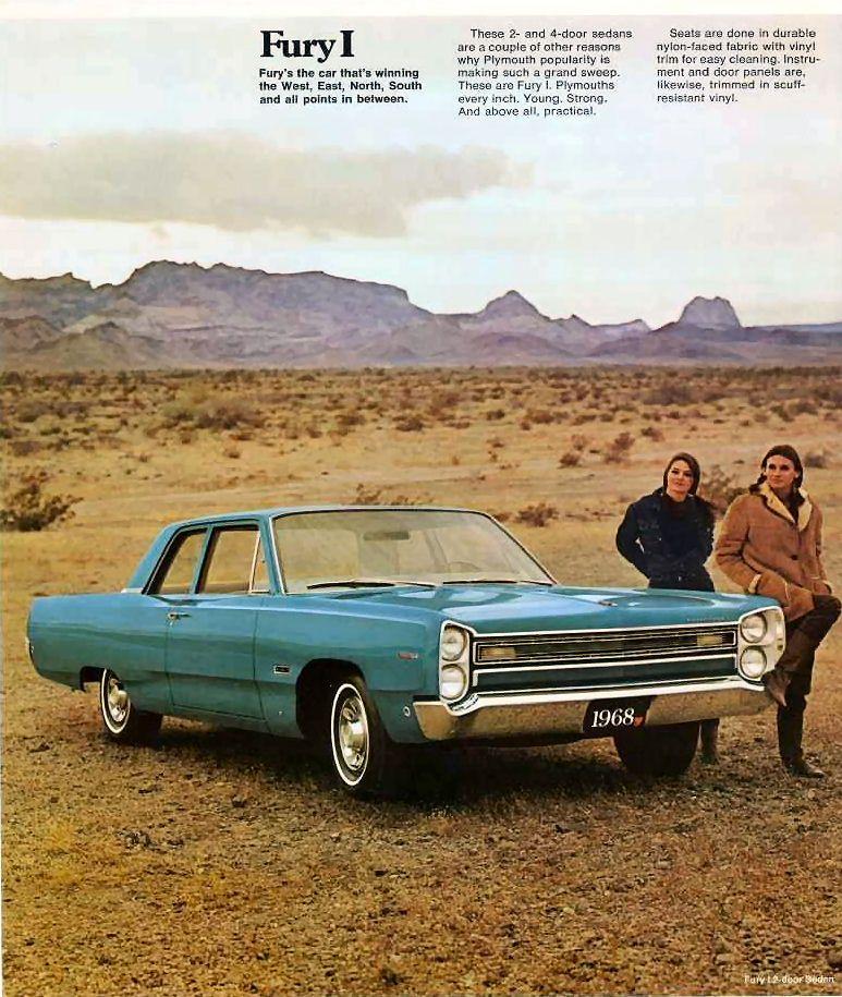 Plymouth Fury 1968 Plymouth Fury Plymouth Car Advertising
