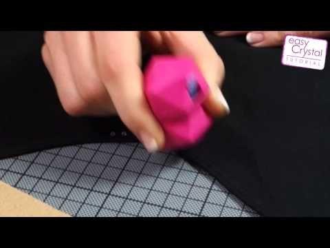 Tuto : Utiliser 'Crystal Pen applicateur de strass' sur du papier ou tissu