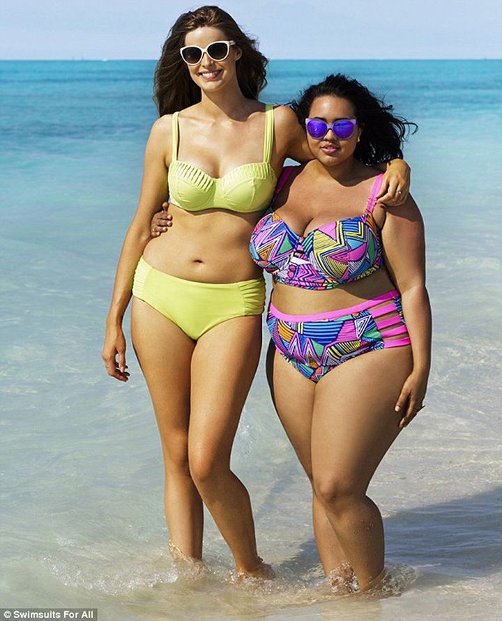 5a432de68ab Plus-Size Models Recreate That Iconic Sports Illustrated Swimsuit ...