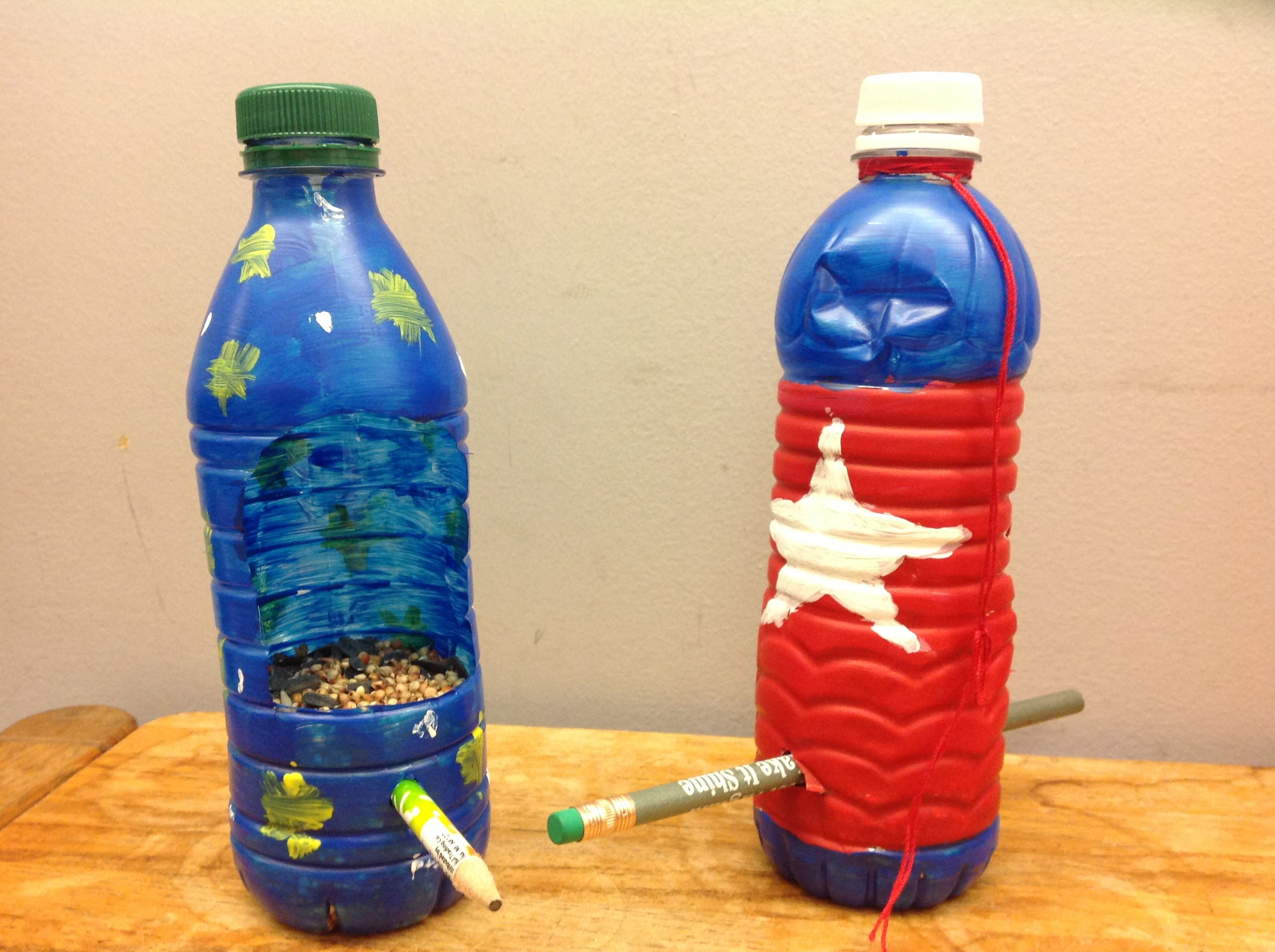 Water bottle bird feeders bird feeder water bottles and for Water bottle recycling ideas