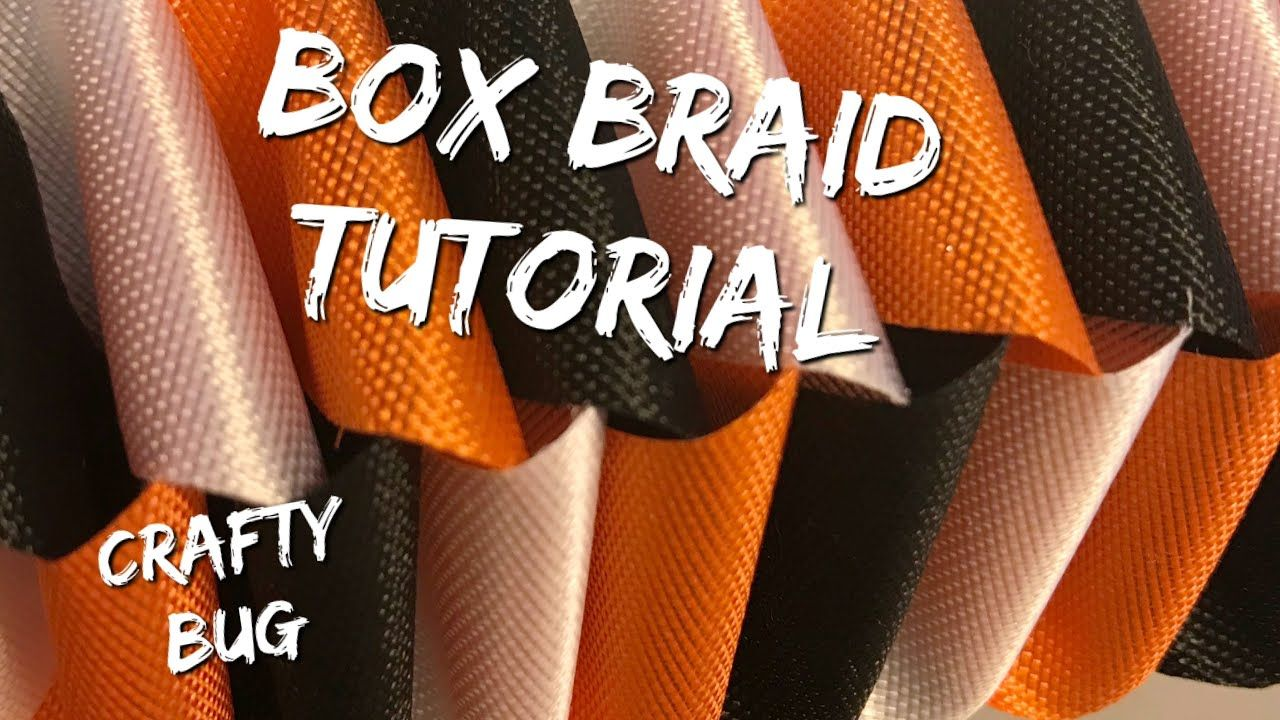 Box Braid Tutorial; how to make Homecoming Mums; homecoming mum braids and chains; love chain