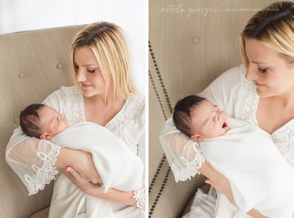 Estela giargei photography houston newborn photographer mom and baby portrait by estela giargei photography